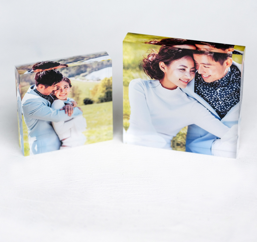 ACRYLIC PHOTO BLOCK 3X3""