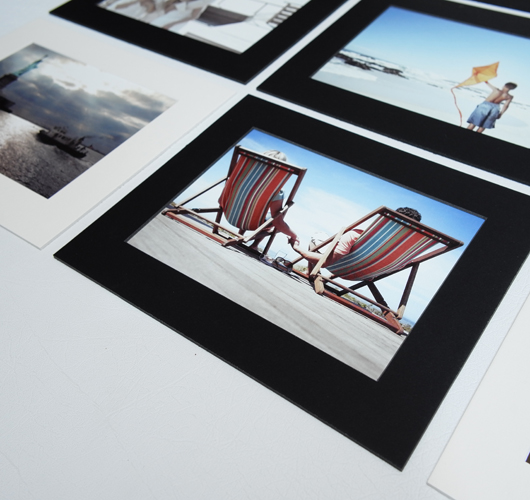 MATTED PRINTS 5x7""