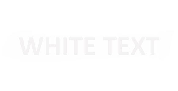 White Text