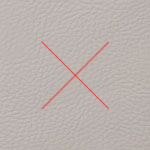 Gris Pale Synthetic Leather Premium