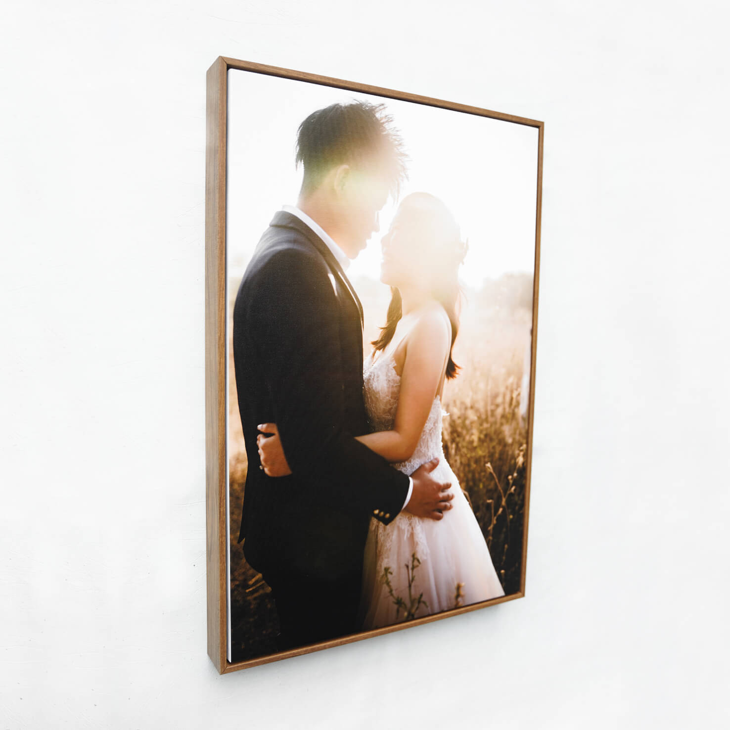 WOODEN FLOAT FRAME CANVAS 20x36